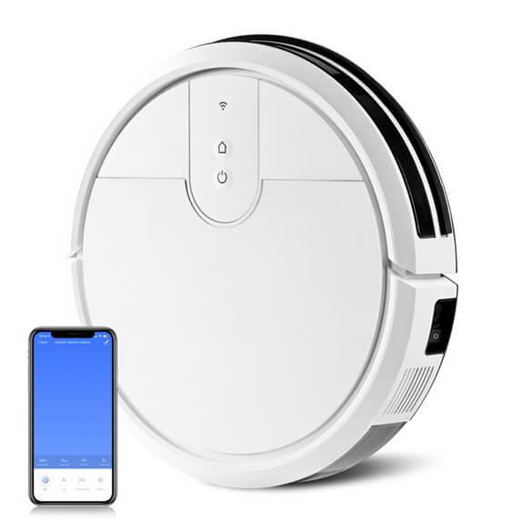 Floor Vacuum Robot K197 white